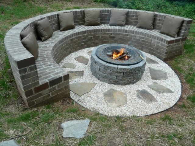 Firepits, Fireplaces and Chimneys