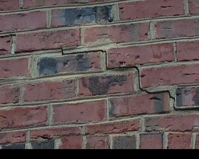 Imagine Brick Settlement Cracks